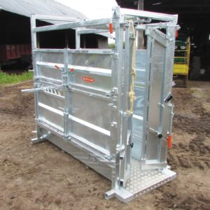 Continental Cattle Crate with Automatic Yoke
