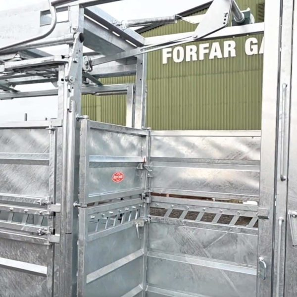 Squeeze Crate with Manual Yoke